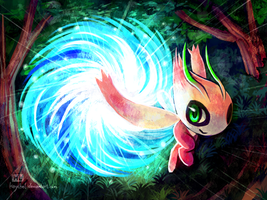 Time Traveler - Celebi by Haychel