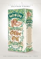 Natroliva Olive Oil Packaging Design by byZED