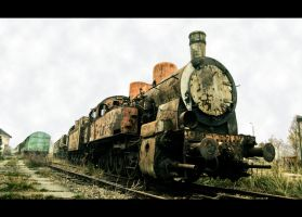Big Bad Locomotive by Beezqp