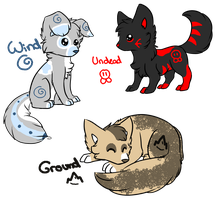 Element Puppies - CLOSED by MooMooAdopts