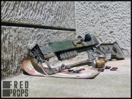 Fallout Laser Rife by FredProps