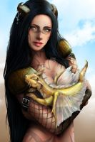 Sand Dragon by RomanticFae