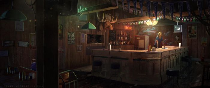Far Cry 5 trailer concept art by Tohad
