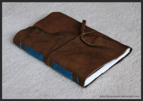 Leather Journal by FynnMitsuki