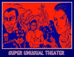 Promotional art for Super Unusual Theater by Ustranga
