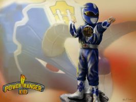 The Power Ranger Kid by thesadpencil