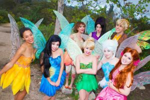 Tinkerbell and friends by KellyEden