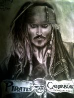 Captain Jack Sparrow III by jdeppfan