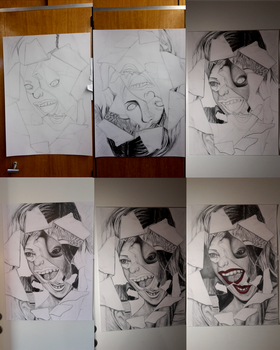 Cindy Sherman's Face - Step by Step by Damdadidoo44