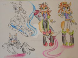:.WIP.: Sonic Riders 2 by Icefire1200