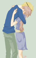 : Need A Hug : by East-and-West