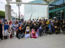 Fire Emblem Gathering at Anime Expo 2013 by kuroi-kenshi