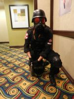 Anime Los Angeles 2015 Resident Evil Umbrella by Demon-Lord-Cosplay