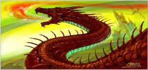 Dragon Fire by marvisionart