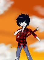 Marshall lee by Down-With-Stupid
