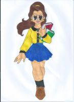 Contest: Disney High - Belle by animequeen20012003