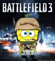 SpongeBob on Battlefield by cris1879