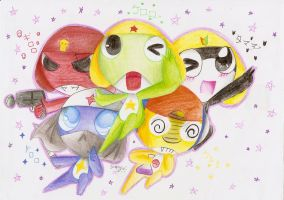 Keroro Shotai! by SuperSunny08