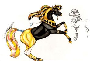 Breath of Anubis by Carousel-Stables
