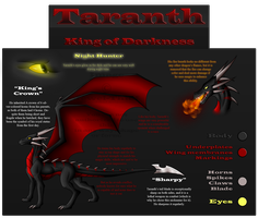 C - Reference - Taranth by Jewel-Thief