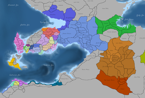 Provincial Divisions by Gotagetoing