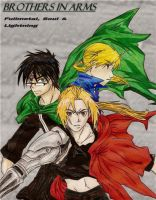 Brothers In Arms- FMA by Rhaenys