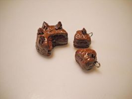 Chocolate Cake Set 2 by SirIsaac