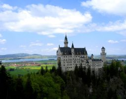 Germany - Castle 3 by Bladewing-Stock