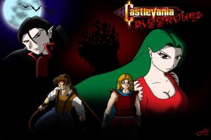 20140327 - Castlevania Bloodlines Tribute by Dustin-Eaton-Works