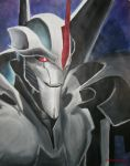 Starscream's lord-portrait by DoctorShaman