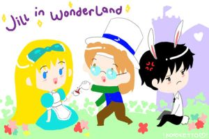 HM: Jill in Wonderland by paper-sting