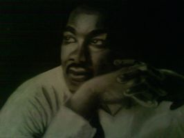 martin luther king jr by lopezgdlp