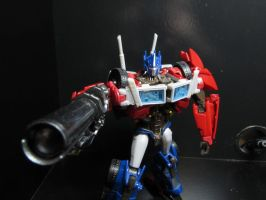 I am Optimus Prime and this is my gun by PunchieTheNeko