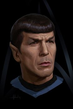 Commander Spock by Andead