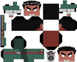 Rock Lee Part 1 Gate Of Pain by hollowkingking