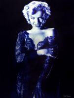 Monroe in blue by raulrk
