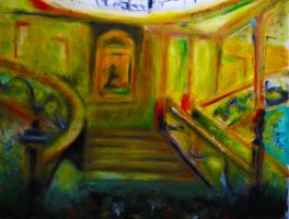 Titanic Staircase by BethKirky