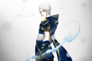 League Of Legends: Ashe's Genderbend by Veon777