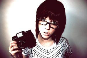 Holga Girl by little-pretty