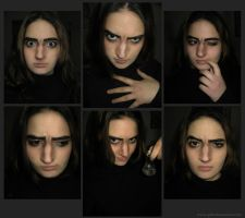 Snape makeup test by gilll
