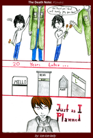 Death Note Comics Flowers by ice-ice-lady