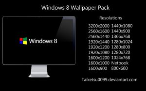 Windows 8 Wallpaper Pack by Taiketsu0099 by Taiketsu0099