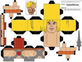 Cubee - He-Man by CyberDrone