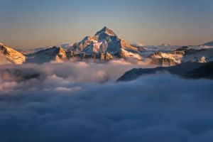 Emerging from the Clouds by RobertoBertero