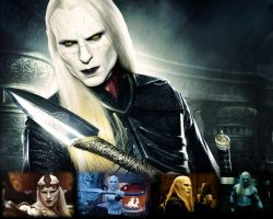 Wallpaper - Prince Nuada by TrillionRin