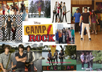 Camp Rock Collage by jonas-brothersrhot