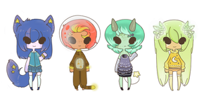 :Adopt Collab: Eeyrie -Space Theme- by oddlittleleaf