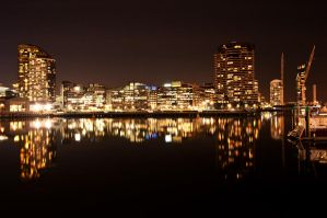Night: Docklands by DanielleMiner
