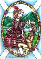 Rose of Scotland by MoonlightPrincess