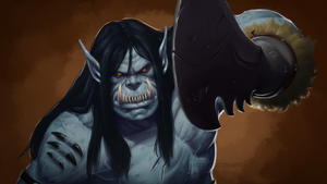Warlords of Draenor: Kargarth Bladefist by Bostonology